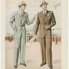 Single-button and two-button suits]