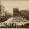 Columbus Day parade, Union Square]