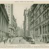 National City Bank, the Custom House and Wall Street to Trinity Church