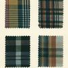 Madras fabric swatches]