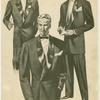 Three men in evening wear