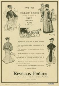 [Women's fur fashions, 1904-1905.]