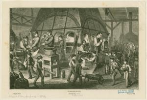 Glass-blowing, Brooklyn, N.Y.