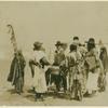 Wichita Indians giving war song.
