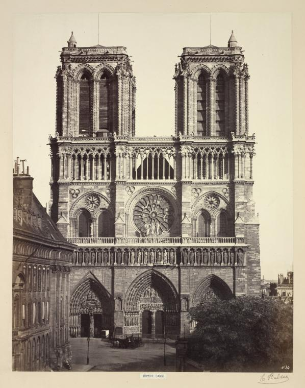 This is What Notre-Dame de Paris Looked Like  in 1857