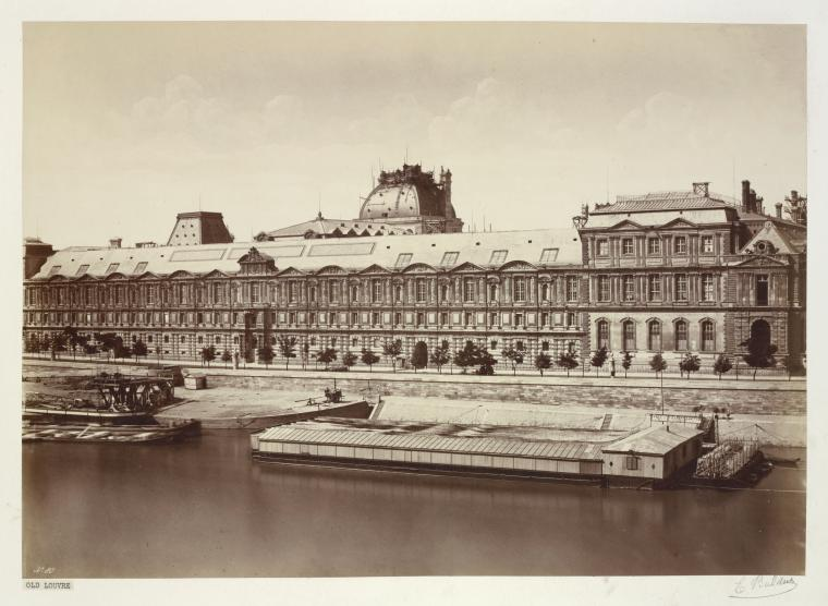 Fascinating Historical Picture of Louvre in 1855