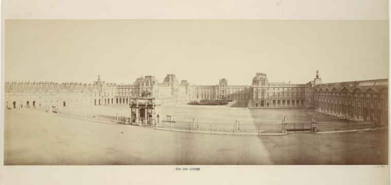 This is What Louvre Looked Like  in 1855