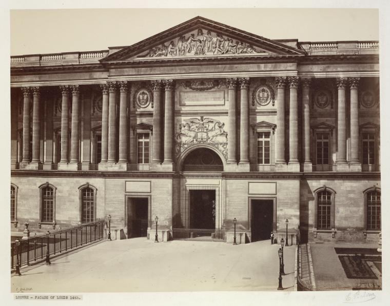 Fascinating Historical Picture of Louvre in 1856