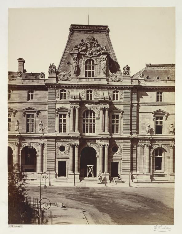 Fascinating Historical Picture of Louvre in 1857