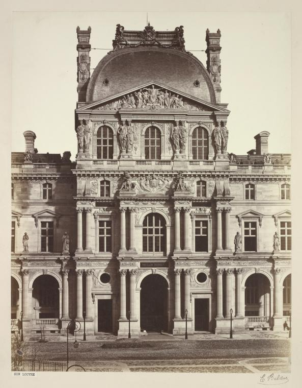 Fascinating Historical Picture of Louvre in 1850