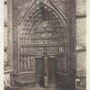 Amiens Cathedral, Portal of the Beau Dieu. [Central portal, West facade]