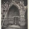 Amiens, Portal of Saint Honoré. [South transept facade]