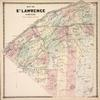 Map of St. Lawrence County.