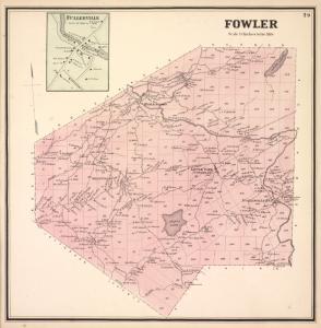 Fullerville [Village]; Fowler [Township]
