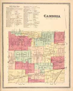 Cambria Business Notices. ; Cambria [Township]