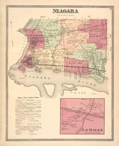 Niagara [Township]; Niagara (Town) Business Notices. ; La Salle [Village]