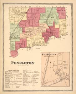 Pendleton [Township]; Pendleton Business Notices. ; Pendleton [Village]