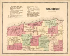 Somerset [Township]; Town of Somerset Business Notices.