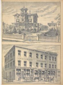 Residence of W. Burgess, Esq., Passaic, N.J.