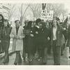 Albany, New York demonstration, 1971 Mar 14