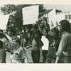 Suffolk County police headquarters protest, Hauppauge, New York, 1971 Aug 22
