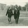 Rich Wandel and Hernan Figueroa at Harpur College, Binghamton, N.Y., 1971 Apr 30