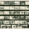 [Unidentified contact sheet, GAA members in rural setting]