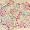 Topographical Map of Hunterdon Co., New Jersey. ; Topographical Map of Somerset Co. New Jersey.