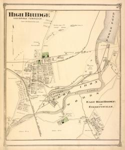High Bridge [Village]; East High Bridge or Everettsville. [Village]