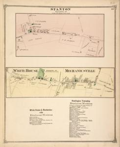 Station [Village]; White House, Mechanicsville [Village]; White House & Mechanicsville Business Notices. ; Readington Township Business Notices.