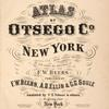 Atlas of Otsego Co., New York.