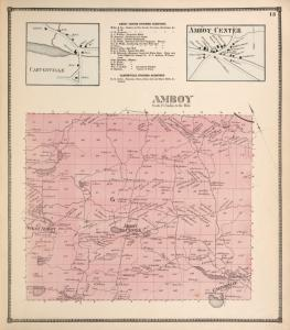 Carterville [Village]; Amboy Center Business Directory. ; Amboy Center [Village]; Amboy [Township]