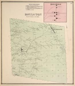 Boylston Business Directory. ; Boylston [Village]; Boylston [Township]
