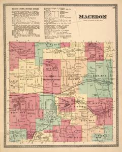 Macedon (Town) Business Notices. ; Macedon [Township]