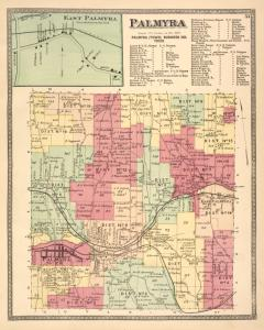 East Palmyra [Village]; Palmyra [Township]; Palmyra (Town) Business Notices.