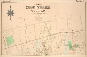 Islip Village and Vicinity Suffolk County, N.Y.