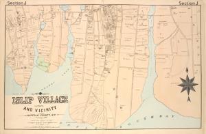 Islip Village and Vicinity Suffolk County, N.Y.