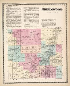 Greenwood Business Notices. ; Greenwood [Township]