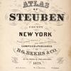 Atlas of Steuben County, New York