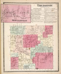 Merchantville [Village]; Thurston [Township]; Thurston Business Notices.