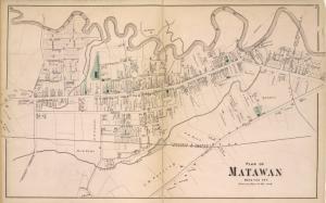 Plan of Matawan [Village]