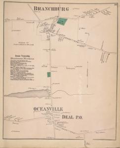 Branchburg [Village]; Ocean Township Business Notices. ; Oceanville [Village]