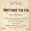 Atlas of Monmouth co., New Jersey.