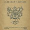 Umelecký mesícník. Roč. 2, čís. 1. [Front cover]