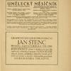 Umelecký mesícník. Roč. 2, čís. 1. [Title page]