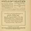 Umelecký mesícník. Roč. 2, čís. 3. [Title page]