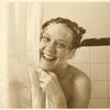 Barbara Gittings in shower, circa 1962