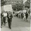 Frank Kameny in picket line
