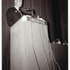 Jack Nichols addressing ECHO conference