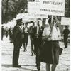Barbara Gittings in picket line, copy